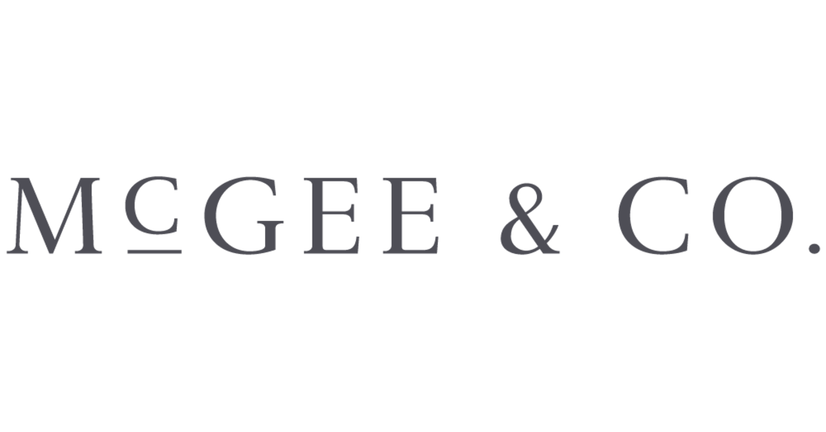 Shop McGee & Co. products on Openhaus